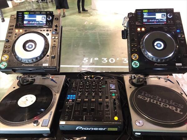 DJ機材がっつり