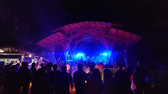 キャンプ場イベント夜の部