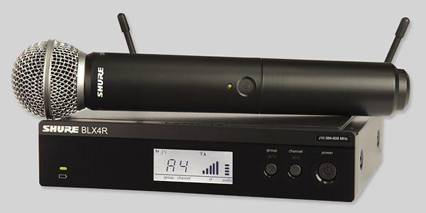 BLX24R/SM58 ワイヤレスマイクセット